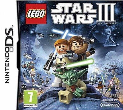 Lego Star Wars III - The Clone Wars - DS