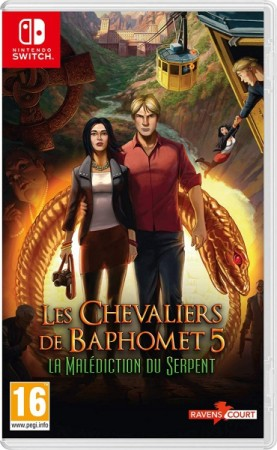 Les Chevaliers de Baphomet 5: La Malédiction du Serpent  - Switch
