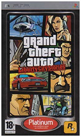 Grand Theft Auto: Liberty City Stories Platinum - Playstation Portable