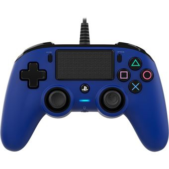 Manette Filaire Nacon Bleue  - Playstation 4