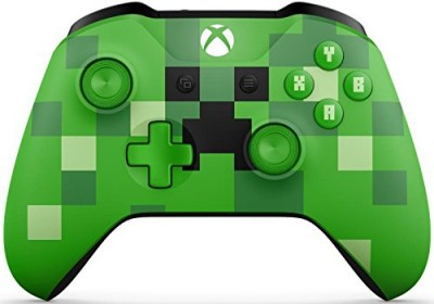 Manette Xbox One Sans Fil Minecraft Creeper - Xbox One