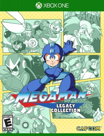 Mega Man : Legacy Collection (Import Anglais) - Xbox One