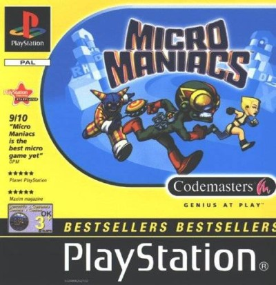 Micro Maniacs - Edition BestSellers - Playstation One