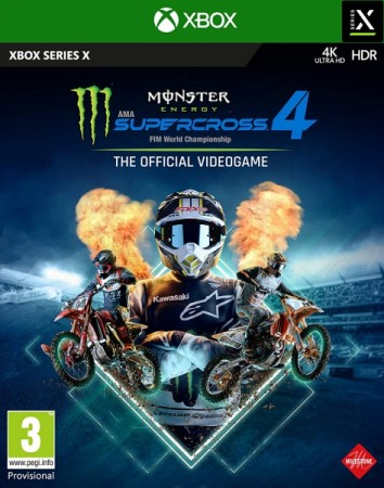 Monster Energy Supercross - The Official Videogame 4  - XBOX séries X