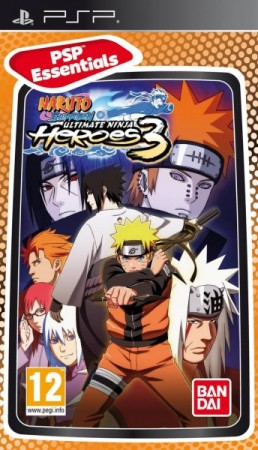 Naruto Shippuden: Ultimate Ninja Heroes 3 Essentials - Playstation Portable