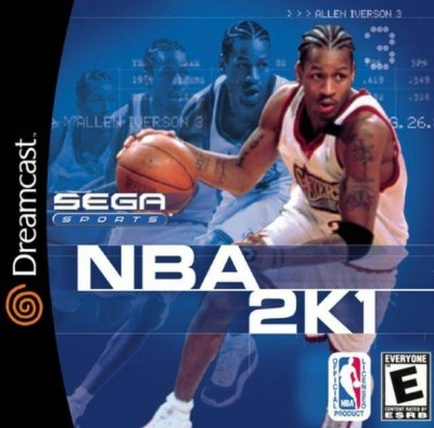 Nba 2k1 (import USA) - Dreamcast