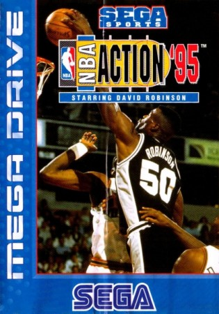 NBA Action '95 Starring David Robinson en boîte - Megadrive