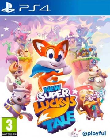 New Super Lucky's Tale  - Playstation 4