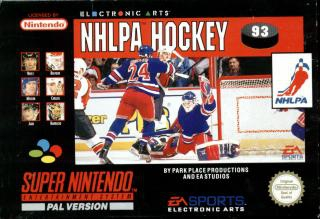 NHLPA Hockey 93 - Super Nintendo