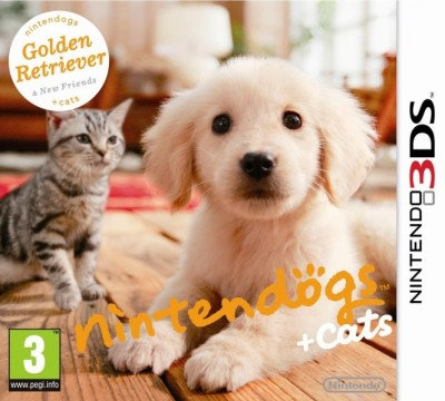Nintendogs Et Cats Golden Retriever - 3DS