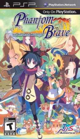Phantom Brave: The Hermuda Triangle (import USA) - Playstation Portable