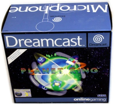 Planet Ring + Micro en boîte sous blister  - Dreamcast