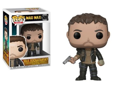 Pop Mad Max Max Rockatansky 509 - Figurine