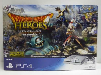 Console Playstation 4 (500 Go) - Édition Dragon Quest Heroes (Import Japonais - En Boîte) - Playstation 4