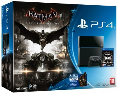 Console PlayStation 4 (500 Go) et Batman Arkham Knight en boîte - Playstation 4