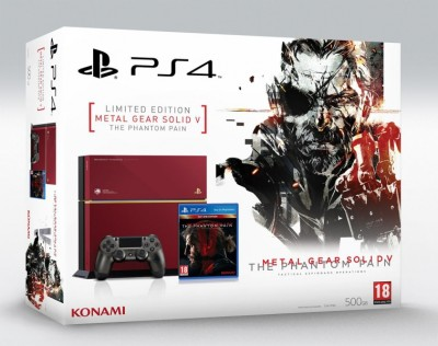 Console Playstation 4 (500Go) - Édition limitée Metal Gear Solid V The Phantom Pain - Playstation 4