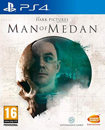 The Dark Pictures - Man of Medan   - Playstation 4