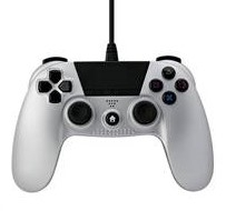 Manette Filaire Under Control Silver - Playstation 4