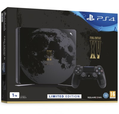 Console Playstation 4 Slim (1 To) - Edition Limitée Final Fantasy XV (En Boite) - Playstation 4