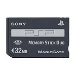 Carte Mémoire 32 Mb - Playstation Portable