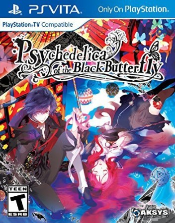 Psychedelica of the Black Butterfly (import USA) - Playstation Vita