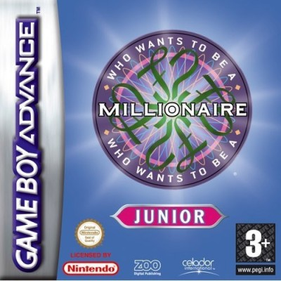 Qui veut gagner des millions junior - Game Boy Advance
