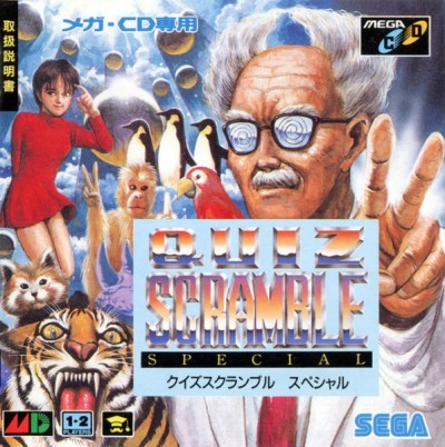 Quiz Scramble Special (import japonais) - Mega CD
