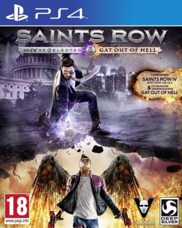 Saints Row IV: Gat Out of Hell - Edition Relected - Playstation 4