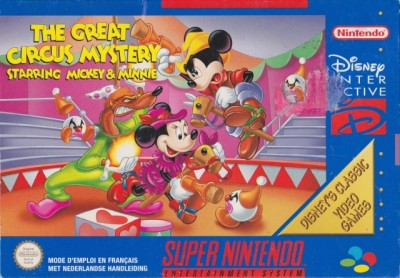 The Great Circus Mystery starring Mickey & Minnie - Super Nintendo
