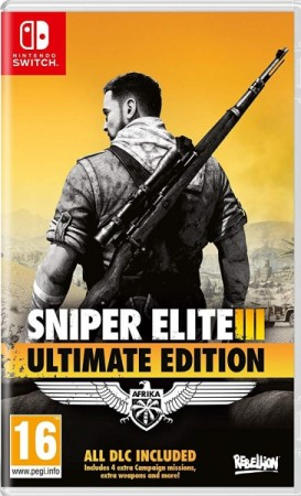 Sniper Elite III - Ultimate Edition  - Switch