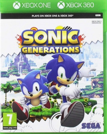 Sonic Generations (import anglais) - Xbox One