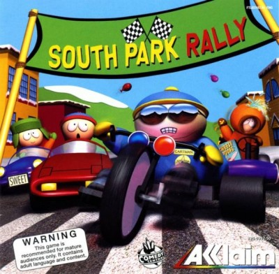 South park rally - Dreamcast