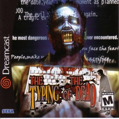 The Typing of the Dead et Clavier (import USA) - Dreamcast