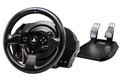 Volant ThrustMaster T300 RS + Universal Pro Driving Simulator - Playstation 4