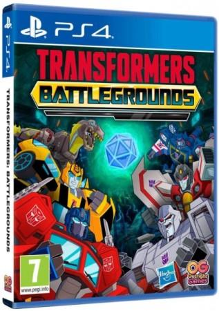 Transformers Battlegrounds Ps4 Jeu Occasion Pas Cher Gamecash