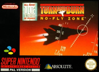 Turn and burn : no-fly zone - Super Nintendo