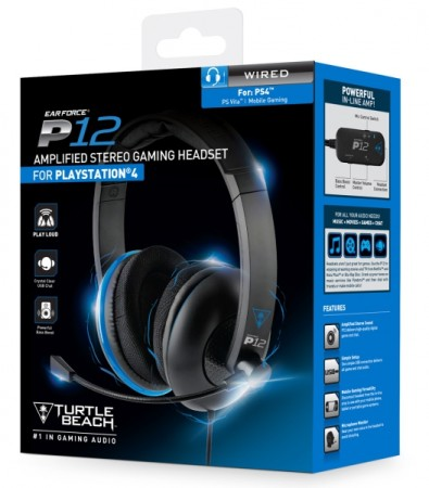 Casque Turtle Beach Ear Force P12  - Playstation 4