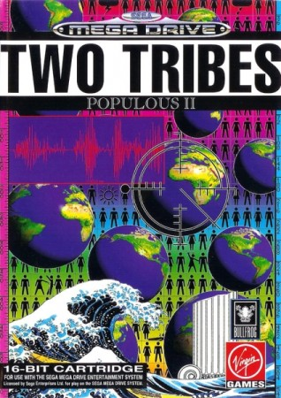 Two Tribes : Populous II - Megadrive