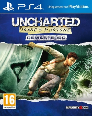 Uncharted : Drake's Fortune - Remastered - Playstation 4