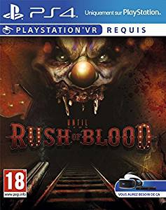 Until Dawn - Rush of Blood VR sous blister - Playstation 4