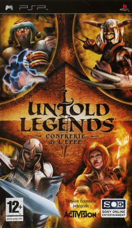 Untold Legends : La Confrerie De L'Epee - Playstation Portable