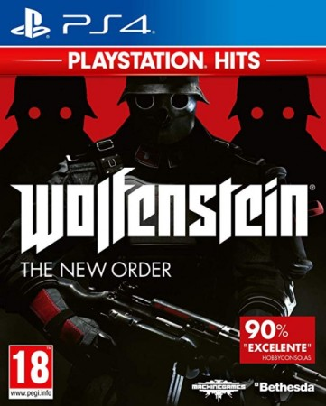 Wolfenstein: The New Order Playstation Hits - Playstation 4