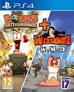 Worms Battlegrounds + Worms W.M.D.  - Playstation 4