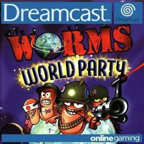 Worms world party - Dreamcast