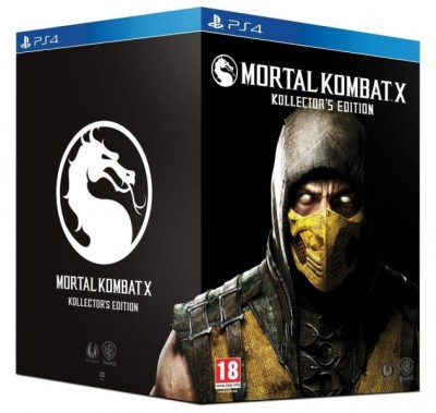 Mortal Kombat X - Kollector's Edition (Collector) - Playstation 4