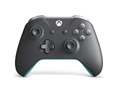 Manette Xbox One Sans Fil - Grise et Bleue - Xbox One