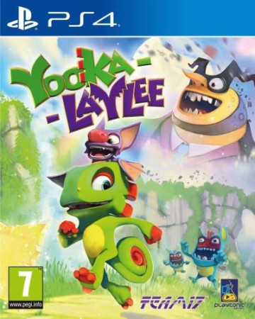 Yooka-Laylee sous blister - Playstation 4
