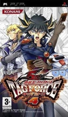 Yu Gi Oh Gx Tag Force 4 - Playstation Portable