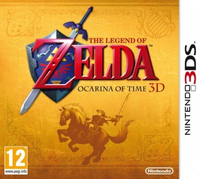 The Legend of Zelda - Ocarina of Time 3D Boitier Collector - 3DS