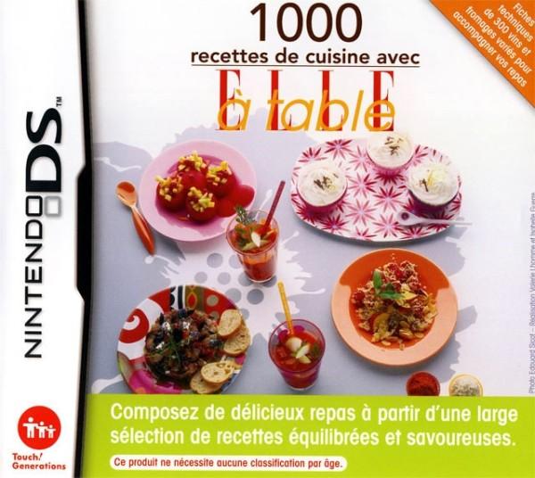1000 recettes de cuisine avec elle table ds jeux for Cuisine ds